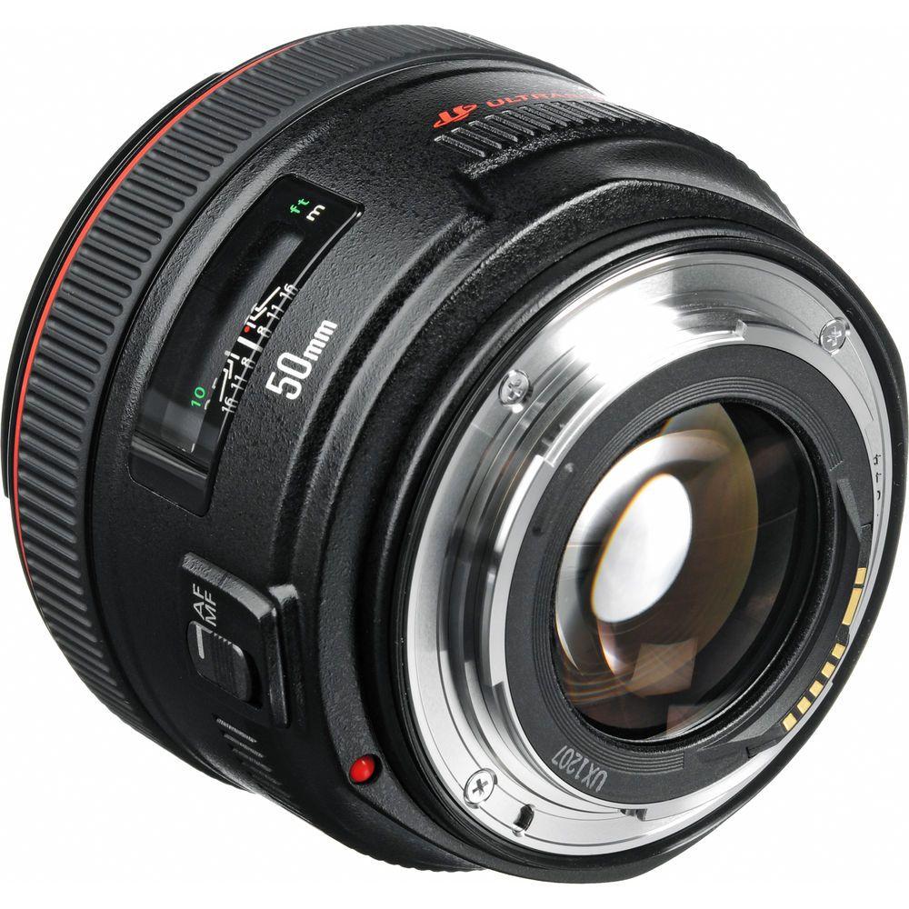 Canon EF 50mm f1.2 L USM Lens